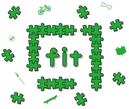 フィット鍼灸整骨院のロゴ
